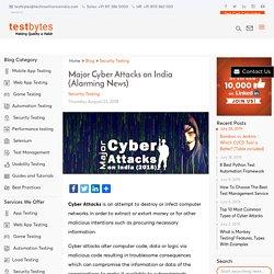 Major Cyber Attacks on India (Alarming News) - Testbytes