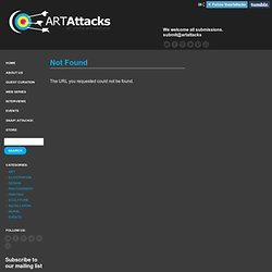Art Attacks Online » Gustavo Rimada
