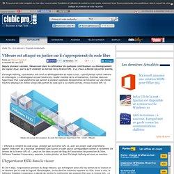 VMware est attaqué en justice car il s'approprierait du code libre