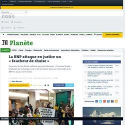 La BNP attaque en justice un «faucheur de chaise»