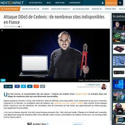 Attaque DDoS de Cedexis : de nombreux sites indisponibles en France