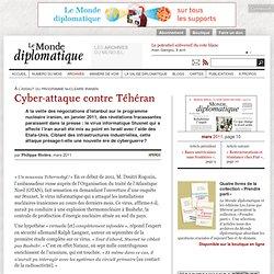 Cyber-attaque contre Téhéran, par Philippe Rivière