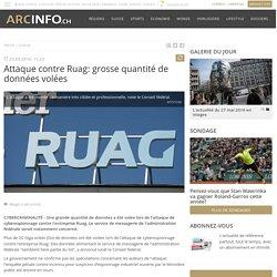 Attaque contre Ruag: grosse quantité de données volées