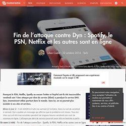 Twitter, eBay, le PSN et Spotify sont tombés : l'attaque DDoS contre Dyn prend de l'ampleur - Tech