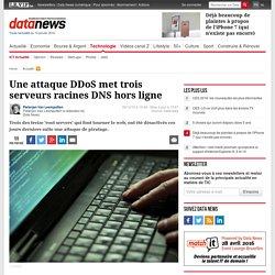 Une attaque DDoS met trois serveurs racines DNS hors ligne