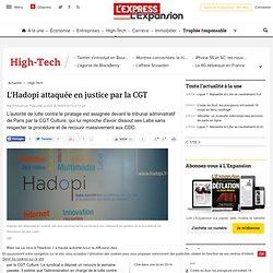 L'Hadopi attaquée en justice par la CGT