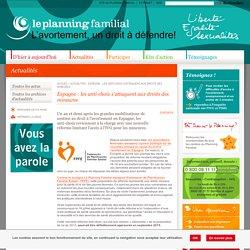 Espagne : les anti-choix s'attaquent aux droits des mineures