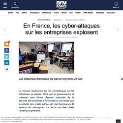 En France, les cyber-attaques sur les entreprises explosent