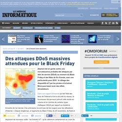 Des attaques DDoS massives attendues pour le Black Friday