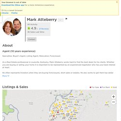 Mark Atteberry - Real Estate Agent in Louisville, KY - Reviews