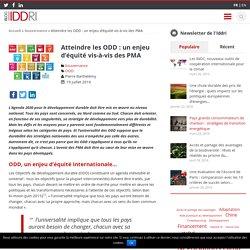 Atteindre les ODD : un enjeu d'équité vis-à-vis des PMA - Iddri Blog