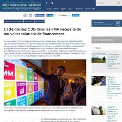 Atteindre les ODD dans les PMA avec de nouvelles solutions de financement