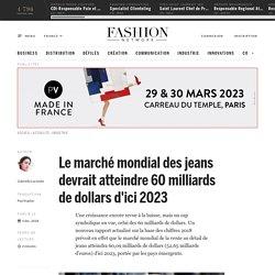 Le marché mondial des jeans devrait atteindre 60 milliards de dollars d'ici 2023 - Actualité : industrie (#1041970)