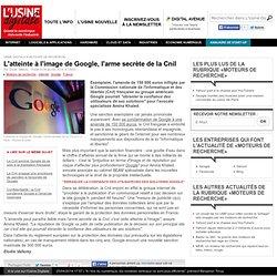 L'atteinte à l'image de Google, l'arme secrète de la Cnil