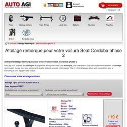 Attelage remorque pour votre voiture Seat Cordoba phase 2