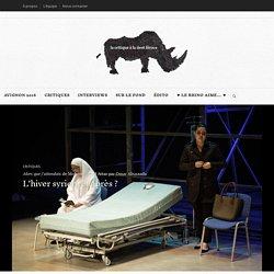 Alors que j'attendais de Mohammad Al Attar par Omar Abusaada L'hiver syrien, et après ? – Rhinocéros