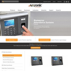 Biometric Time Attendance System, Fingerprint Time Attendance - Avazonic