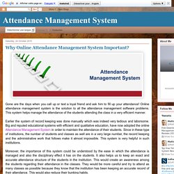 Free Download Attendance Management Software – System Reviews 2015