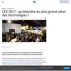 CES 2017 : qu'attendre du plus grand salon des technologies ?