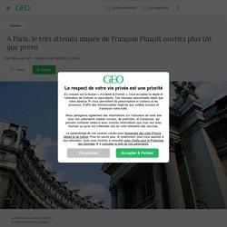 A Paris, le très attendu musée de François Pinault ouvrira plus tôt que prévu...
