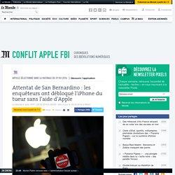 Attentat de San Bernardino: les enquêteurs ont débloqué l'iPhone du tueur sans l'aide d'Apple
