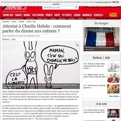 Attentat à Charlie Hebdo : comment parler du drame aux enfants ? - 08/01/2015...