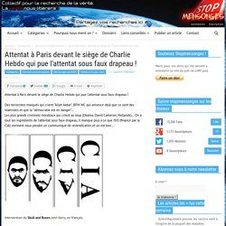 Attentat à Paris devant le siège de Charlie Hebdo qui pue l'attentat sous faux drapeau