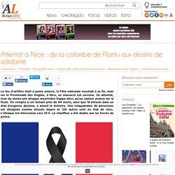 Attentat à Nice : de la colombe de Plantu aux dessins de solidarité