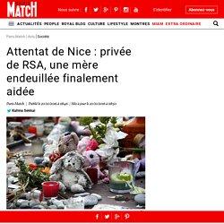 Attentat de Nice : privée de RSA, une mère endeuillée finalement aidée