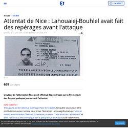 Attentat de Nice : Lahouaiej-Bouhlel avait fait des repérages avant l'attaque