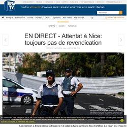 EN DIRECT - Attentat à Nice: une cinquantaine d'enfants hospitalisés
