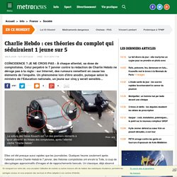 Attentat contre Charlie Hebdo : ces théories du complot qui séduiraient 20% des jeunes