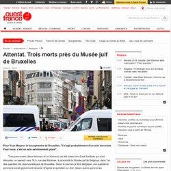 Attentat. Trois morts près du Musée juif de Bruxelles