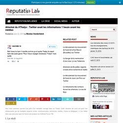Comment s'est diffusée l'information sur l'attentat déjoué du Thalys