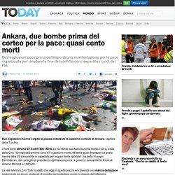 Attentato Ankara: bombe al corteo per la pace 10 ottobre 2015
