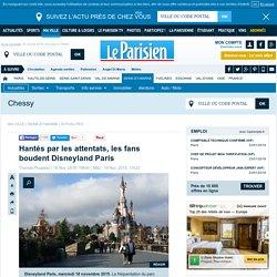 Hantés par les attentats, les fans boudent Disneyland Paris