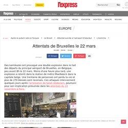 Attentats de Bruxelles le 22 mars