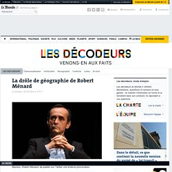 Attentats de Bruxelles : la drôle de géographie de Robert Ménard
