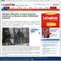 Attentats à Bruxelles: la masse de jeunes séduits par un discours radical à Molenbeek augmente