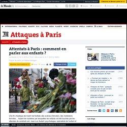 Attentats à Paris: comment en parler aux enfants?