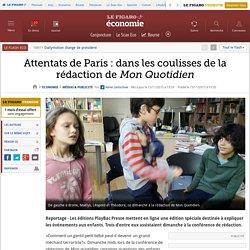 Attentats de Paris : dans les coulisses de la rédaction de Mon Quotidien