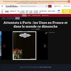 Attentats à Paris : les Unes en France et dans le monde ce dimanche , Diaporamas