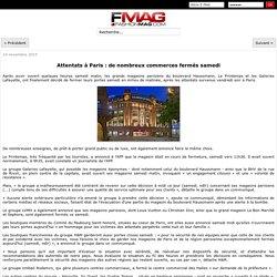 Attentats à Paris : de nombreux commerces fermés samedi - Actualité : Distribution (#596090)