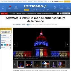 Attentats à Paris : le monde entier solidaire de la France