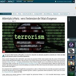 Attentats à Paris: vers l'extension de l'état d'urgence