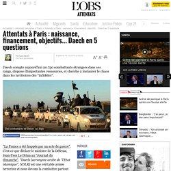 Attentats à Paris : naissance, financement, objectifs... Daech en 5 questions
