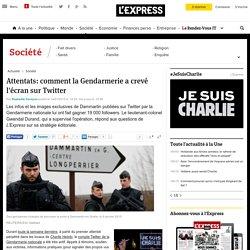 Attentats: comment la Gendarmerie a crevé l'écran sur Twitter