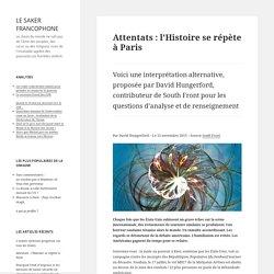 Attentats : l'Histoire se répète à Paris