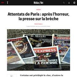 Attentats de Paris : après l'horreur, la presse sur la brèche