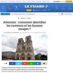 Attentats : comment identifier les rumeurs et les fausses images ?